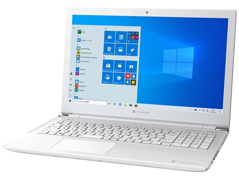 dynabook CZ45/L 15.6型HD Core i3 8130U 1TB_HDD Officeなし