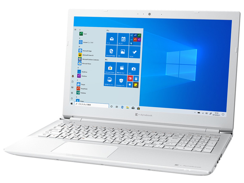 dynabook CZ45/L 15.6型フルHD Core i5 8250U 1TB_HDD Officeなし