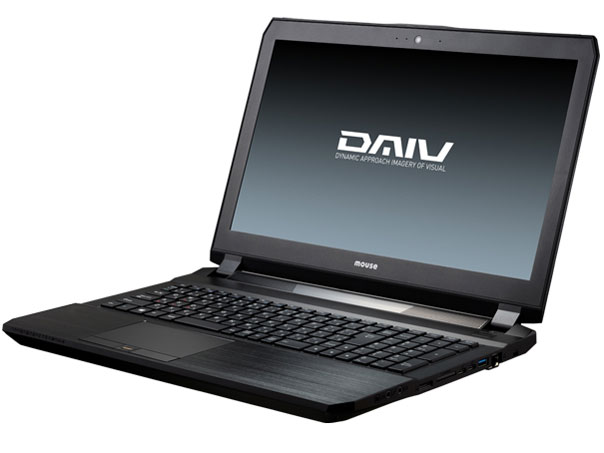 DAIV-NG5720U3-S10 Core i7/32GBメモリ/960GB SSD/GeForce GTX1060/15.6型 フルHD液晶搭載モデル