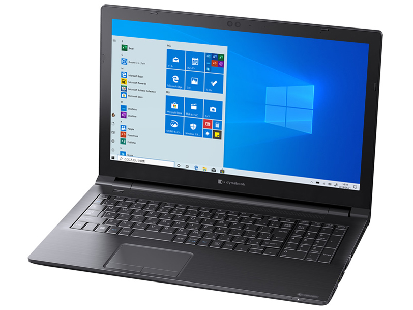 dynabook EZ35/PBSD 価格.com限定 W6EZ35JPBC-K 15.6型フルHD Core i5 8265U 512GB_SSD Officeなし
