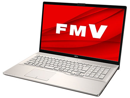 FMV LIFEBOOK NHシリーズ WN1/E2 KC_WN1E2_A007 TV機能・メモリ8GB・Blu-ray・Office搭載モデル