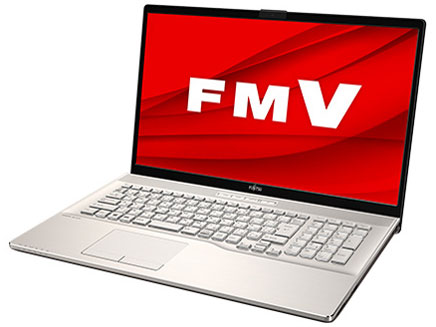 FMV LIFEBOOK NHシリーズ WN1/E2 KC_WN1E2_A010 TV機能・メモリ32GB・Blu-ray・Office搭載モデル