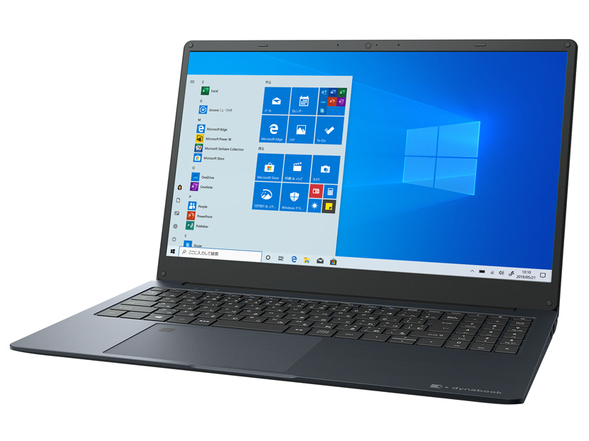dynabook YZ/MPB 価格.com限定 W6YMP3EZAB-K 15.6型HD Core i3 1005G1 256GB_SSD Officeあり