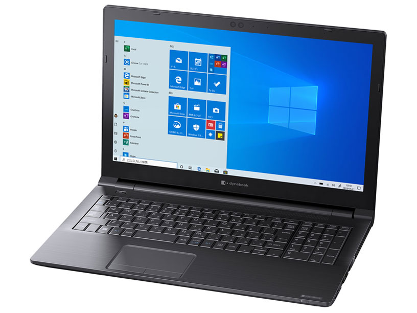 dynabook BZ15/NBSD W6BZ15CNBA 15.6型HD Celeron 4205U 256GB_SSD Officeなし