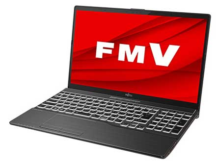 FMV LIFEBOOK AHシリーズ WA-X/F1 KC_WAXF1_A009 8GBメモリ・SSD 256GB+HDD 1TB・Blu-ray搭載モデル